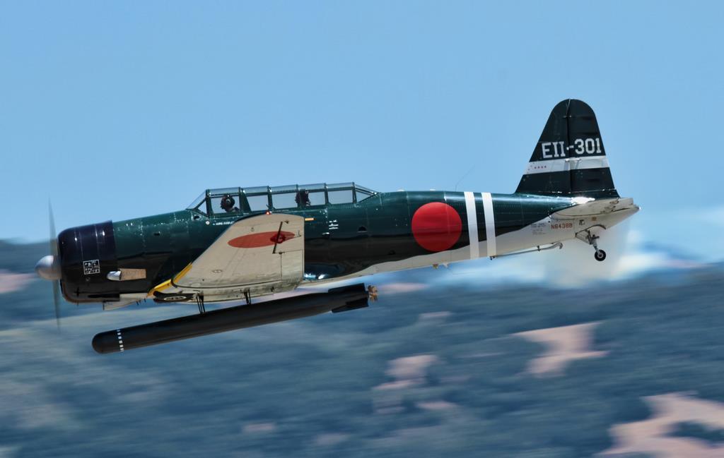 Nakajima B5N Carrier torpedo bomber Kate Imperial Japanese Navy Air Service IJN